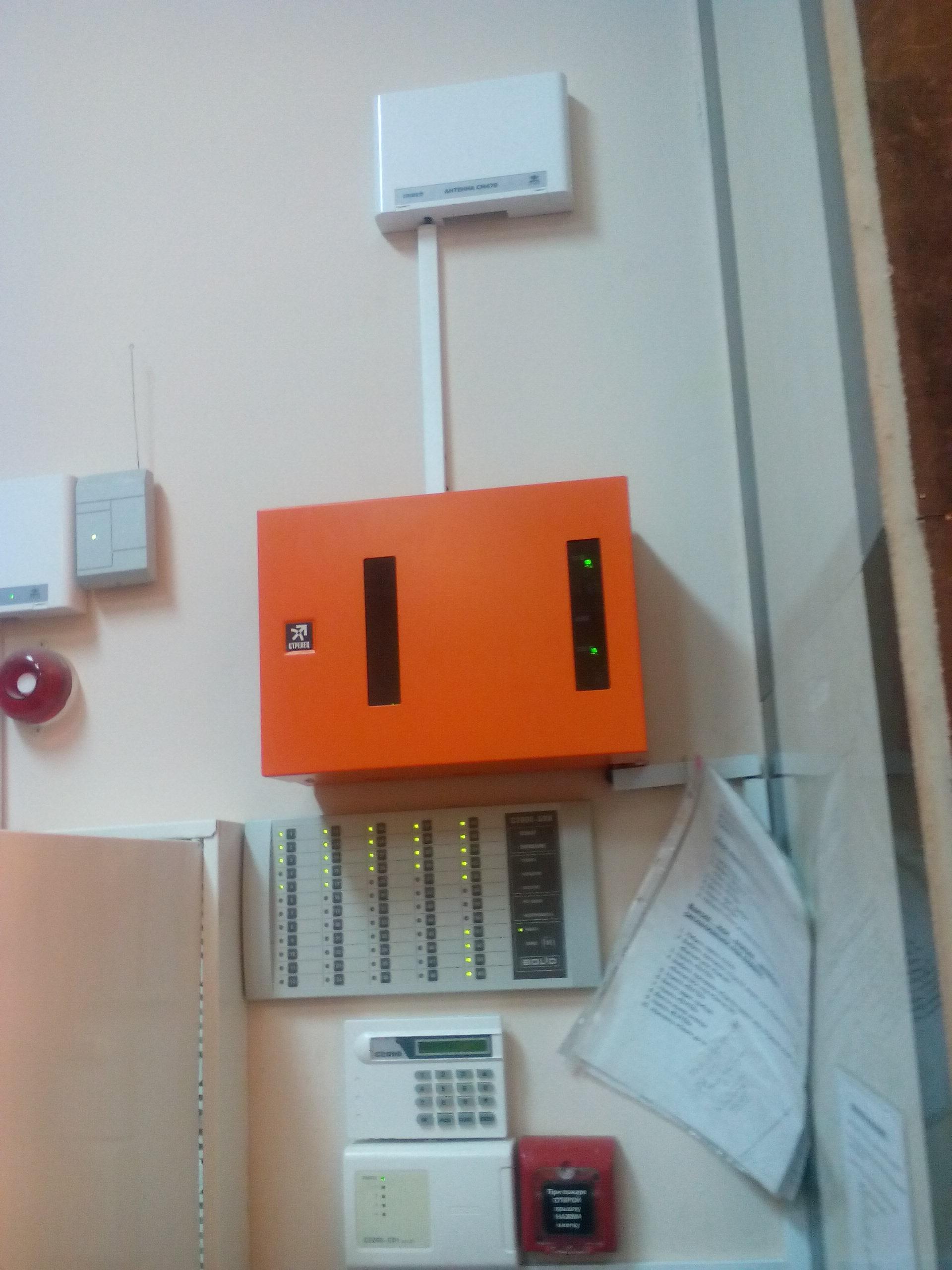 эксплуатационное техническое обслуживание системы мониторинга автоматической пожарной сигнализации